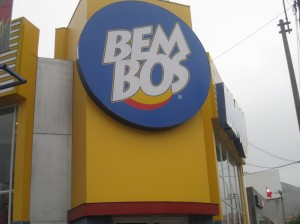 Sign for Bembos