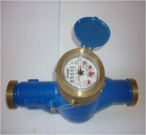Picture of a Sedapal water meter