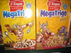 MegaTrigo cereal found in Peru store