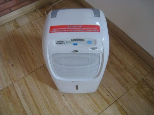 Picture of dehumidifier