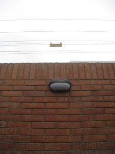 Picture of wall and electrified fence in house in Lima, Peru