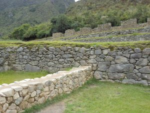 View from Machu Picchu's Guardhouse looking the other way