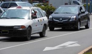 Picture of 2 cars in Lima, Peru