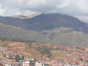Mountains around Cusco