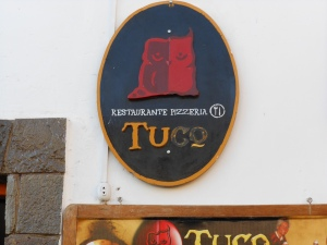 Sign for Tuco