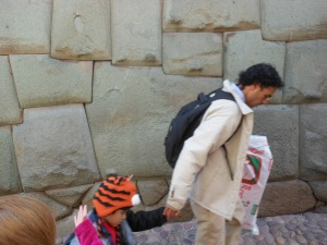 Photo of Twelve-Angle Stone in Cusco, Peru