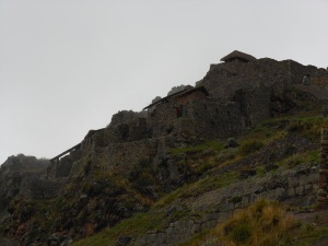 Buildings of Pisaq, Peru