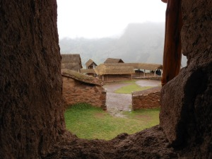 More buildings of Pisaq, Peru