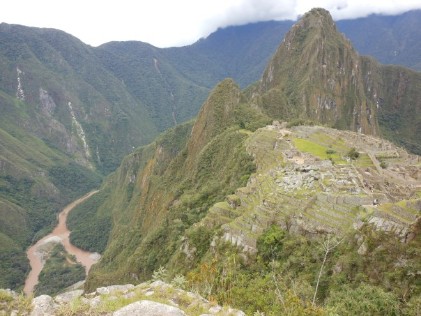 Ruins and Urubamba River