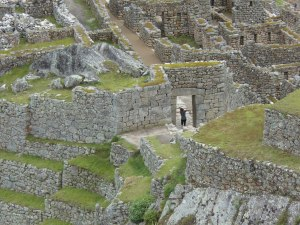 Main Gate of Machu Picchu