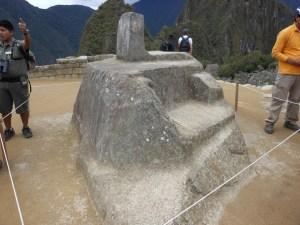 Intiwatana at Machu Picchu
