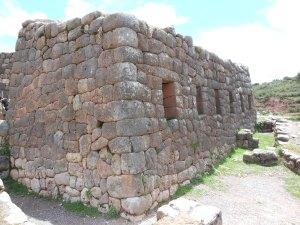 Walls of Pukapukara, Peru