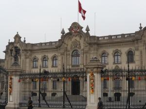 Palacio de Gobierno in Lima, Peru