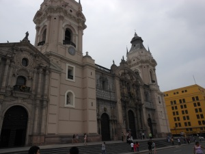 Main cathedral in Plaza de Armas