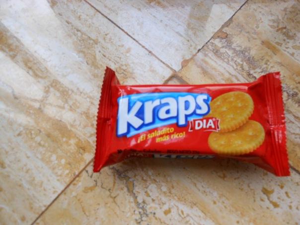 Kraps brand snack crackers