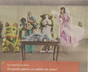 Print ad for BCP, a Peruvian bank