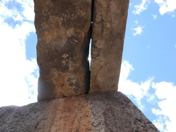 Stone lintel in Saqsaywaman