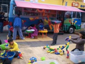 Children's toys kiosk