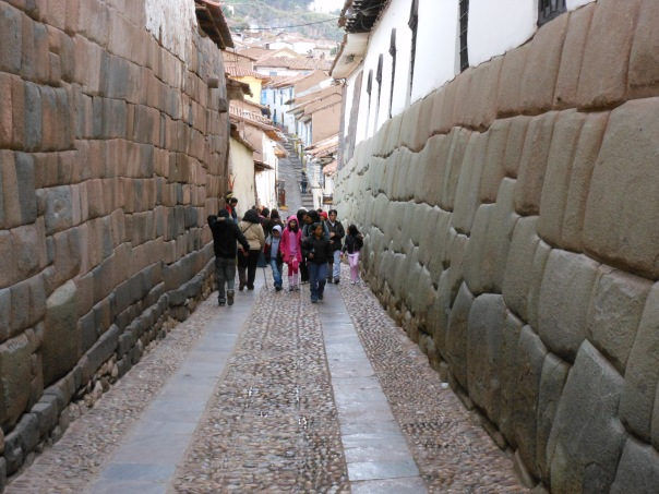 Street in Cusco, Peru