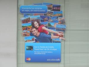 Ad for Citi in Peru