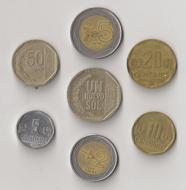 Peruvian Coins