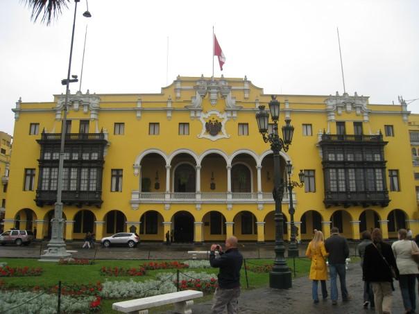 Municipal Palace in Lima, Peru