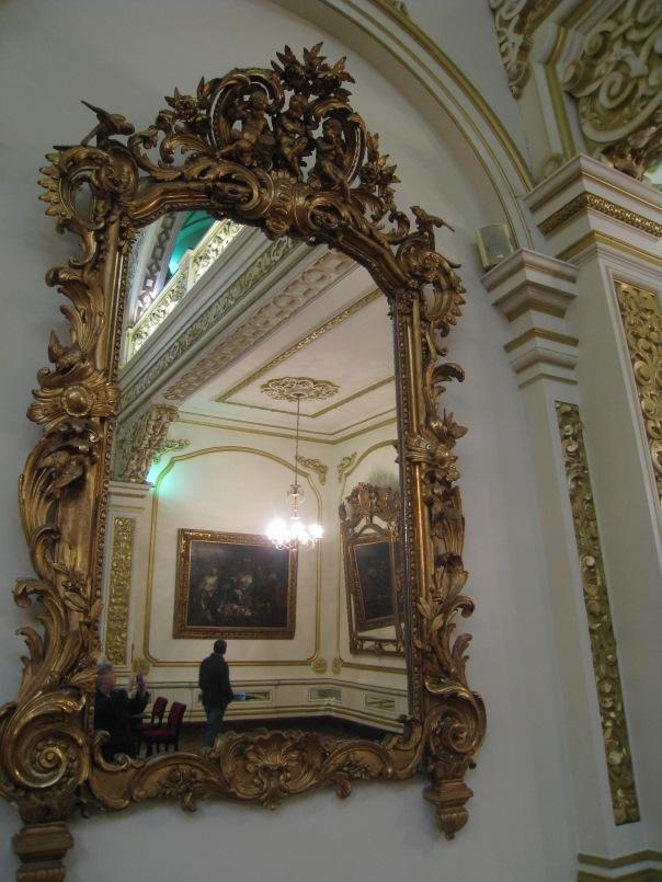Mirror in Mayor's office