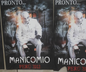 Poster for Peruvian horror circus