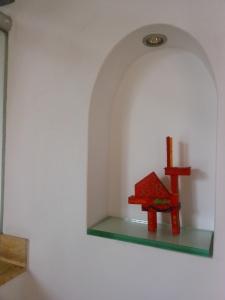 Alcove in home