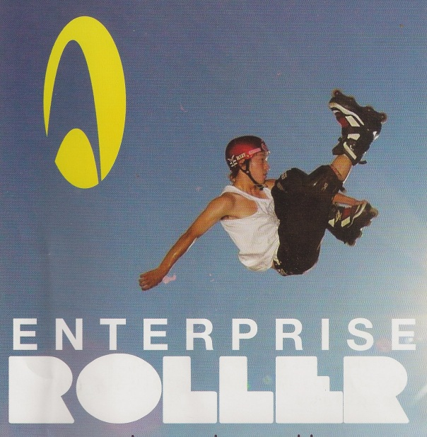 Flyer of Peruvian rollerblade outfitter