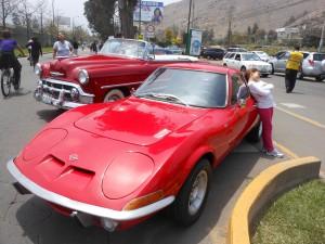 Classic cars in Peru