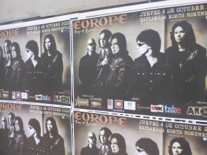 Europe poster in Peru