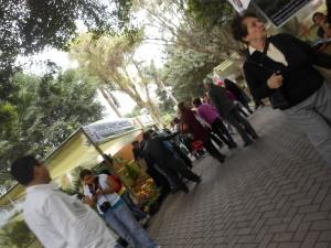 Participants at Perufloral 2012 in Lima