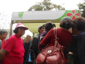 Participants at Perufloral 2012 in Lima