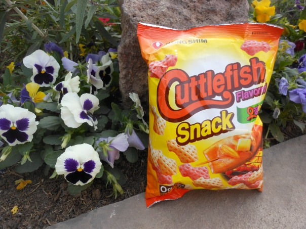Package of cuttlefish snacks