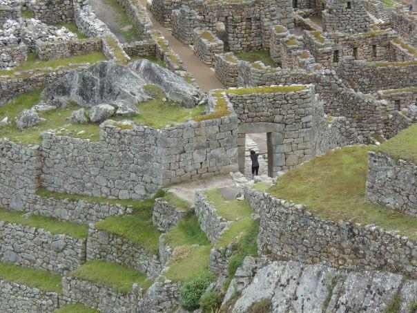 Gate of the Sun at Machu Picchu