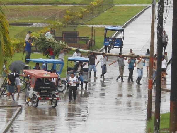 Volunteers in Indiana, Peru