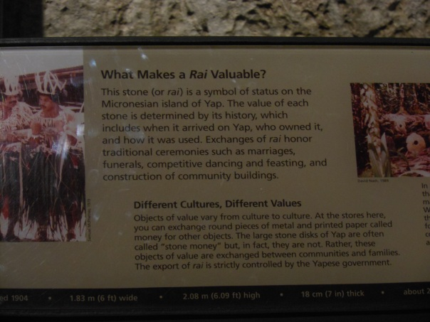 Info card about rai at Smithsonian Museum of Natural History