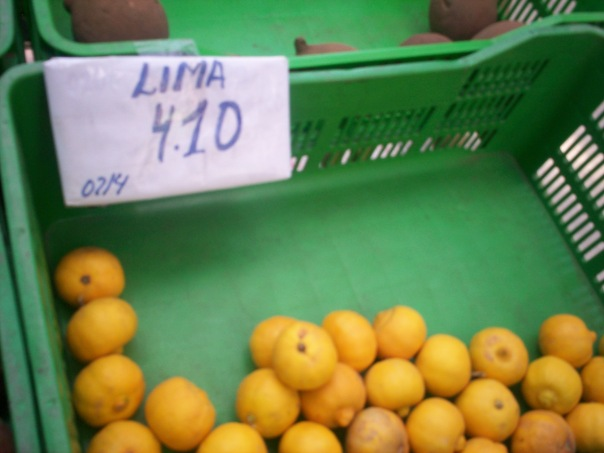 Limas in Lima