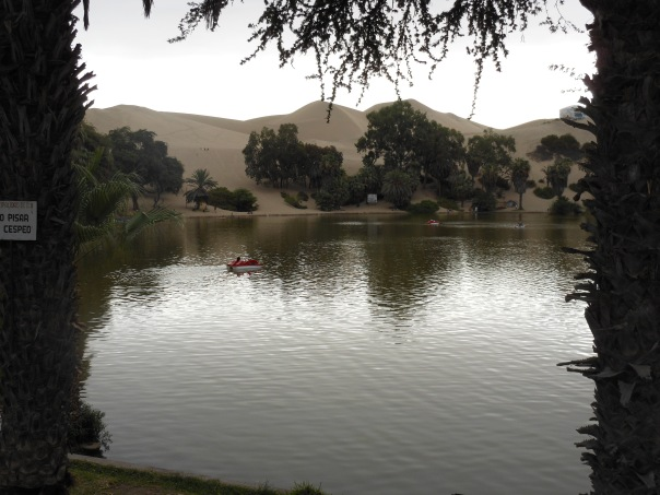 Laguna Huacachina in Peru