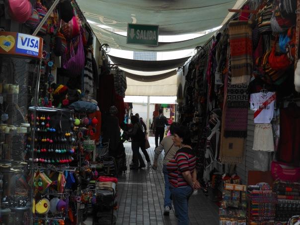 Inka Market, Lima, Peru