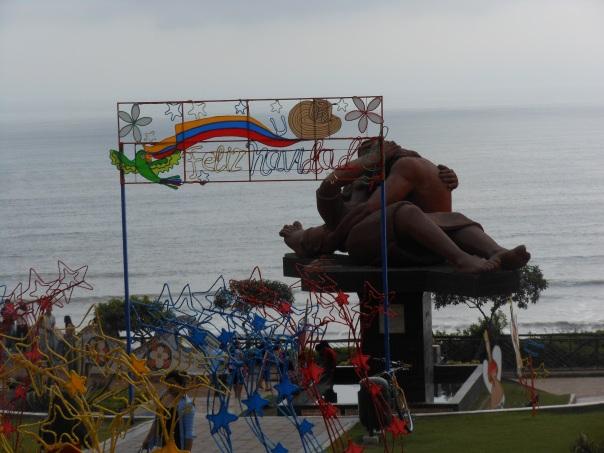 Christmas display in Peru