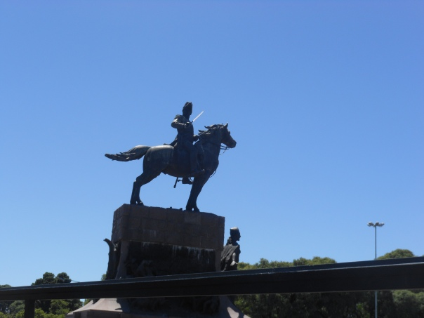 Another statue in Buenos Aires