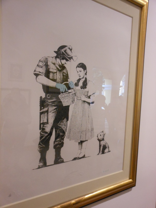 Banksy Dorothy Stop and Search