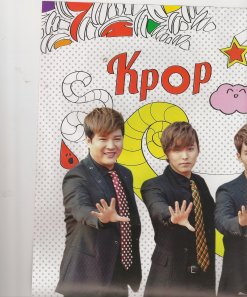 "Their show is called ""Super Show 5""...that's why their hands are that way"